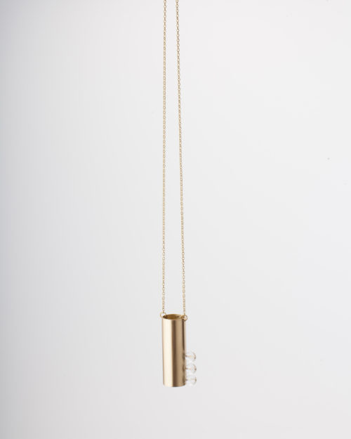 Tubular Col. Necklace Tubular