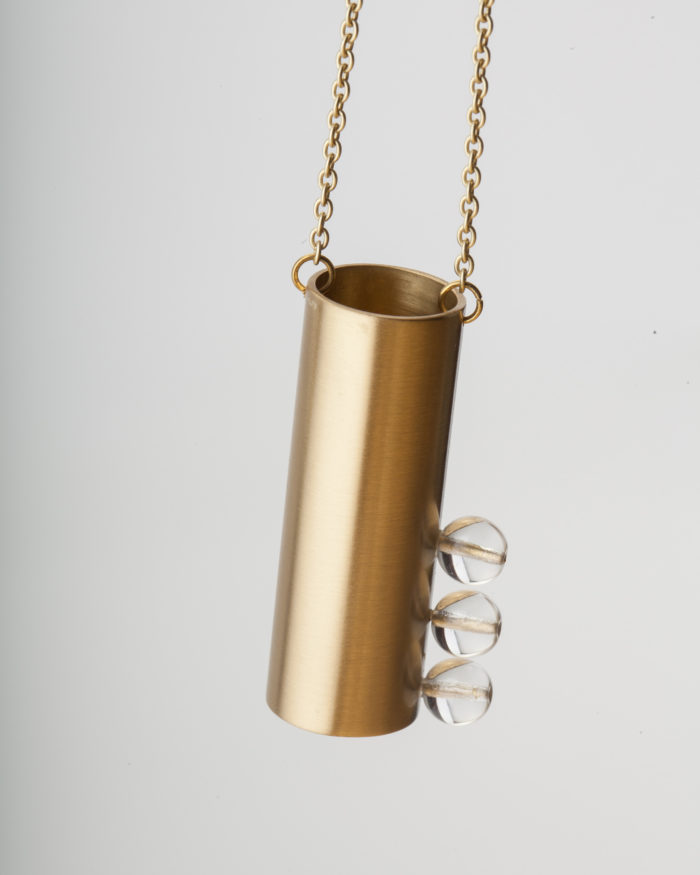 Tubular Col. Necklace Tubular detalle